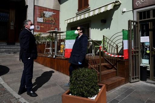 Số ca tử vong vì Covid-19 ở Italia tăng mạnh, tổng số người nhiễm tiệm cận TQ - 1