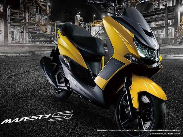 Ra mắt xe tay ga Yamaha Majesty S 155 2020