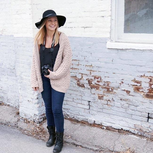 Cô nàng 23 tuổi lớn lên trong gia đình có truyền thống kinh doanh nên rất muốn kế nghiệp bố Rich Hempel.