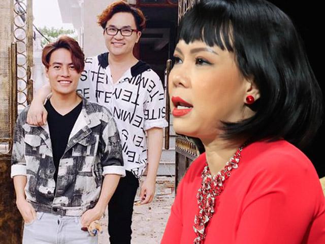 """Việt Hương bất ngờ """"đá xéo"""" người tình tin đồn kém 17 tuổi của MC giàu nhất VN"""