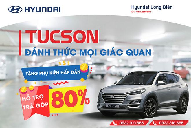 Hyundai Long Biên: Ưu đãi lớn khi mua Hyundai Tucson 2019 - 1