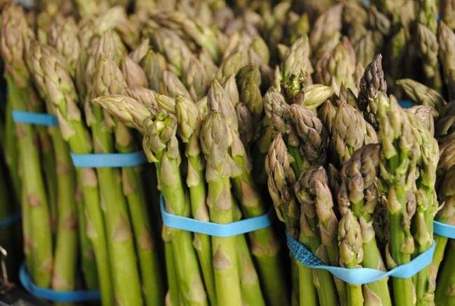"""Măng tây có thân mọc ngầm trong đất. Có 2 loại măng tây trắng và măng tây xanh. Chúng còn được gọi với cái tên """"rau vua""""."""