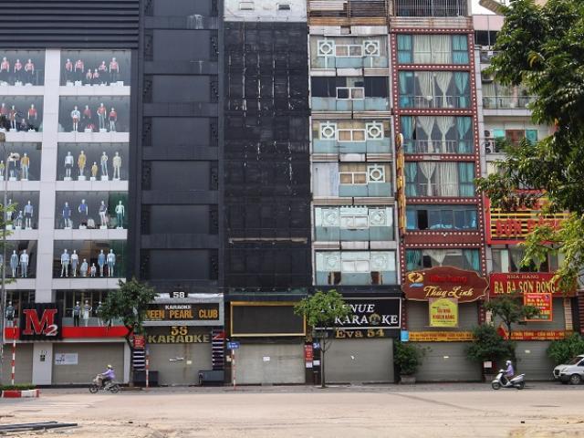 Cảnh tượng hiếm thấy tại Hà Nội sau lệnh tạm ngừng hoạt động kinh doanh dịch vụ