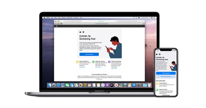 Apple tung app và trang web riêng chống Covid-19 - 1