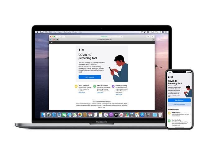 Apple tung app và trang web riêng chống Covid-19