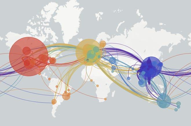8 biến chủng khác nhau của virus Corona lây lan khắp toàn cầu - 1