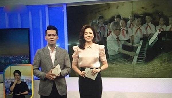 Nữ MC gây tranh cãi dữ dội vì biểu cảm khó hiểu khi đưa tin nhạc sĩ Phong Nhã qua đời - 1