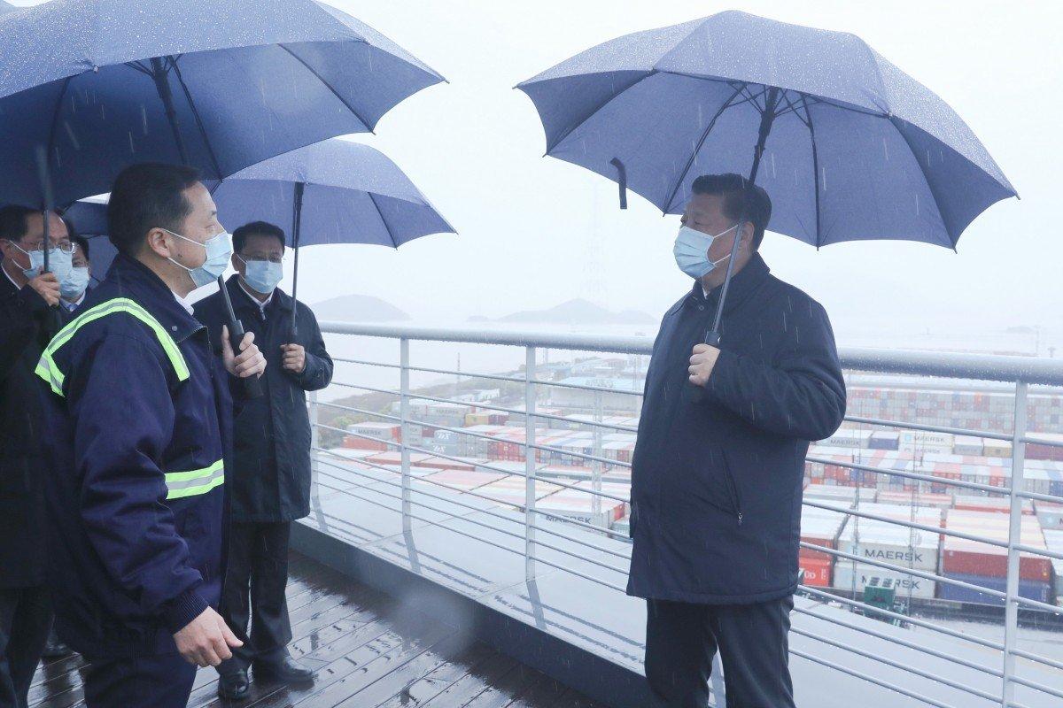 Covid-19: Ông Tập lần đầu rời Bắc Kinh sau chuyến thăm Vũ Hán - 1