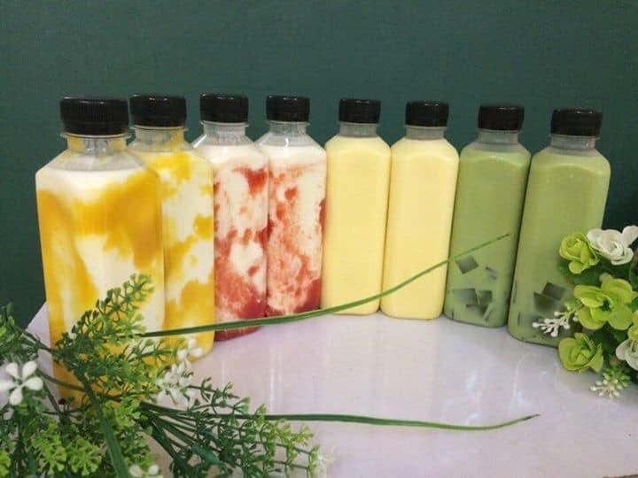 Cách làm sữa chua uống trái cây thơm ngon bổ dưỡng, người vụng mấy cũng làm được - 1