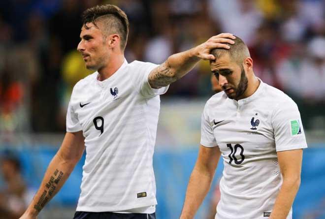 Benzema phát ngôn coi thường đồng hương Giroud - 1