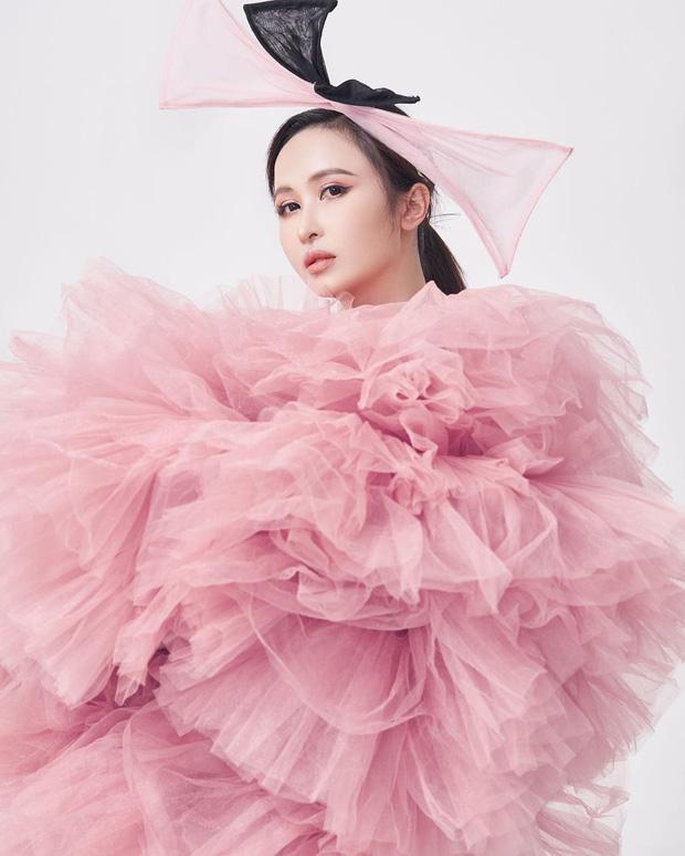 Vợ Minh Nhựa copy concept chụp thời trang của Phạm Băng Băng - 1