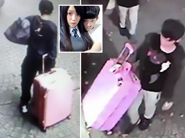 Cô gái xinh đẹp bị bạn trai sát hại ở khách sạn, nhét xác vào vali kéo đi phi tang