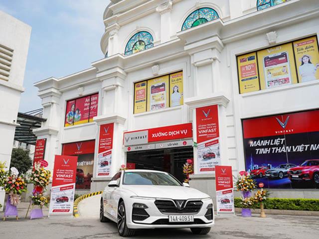 VinFast đóng cửa hệ thống showroom tại các trung tâm thương mại