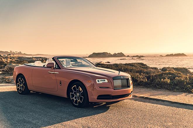 Rolls-Royce Dawn Black Badge đẹp mê mẩn trong chiều hoàng hôn - 1
