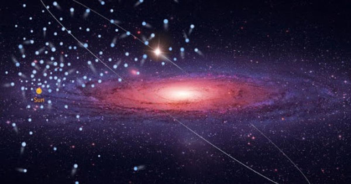 """Phát hiện 591 vật thể """"không thể tồn tại"""" bay quanh nơi Trái Đất trú ngụ - 1"""