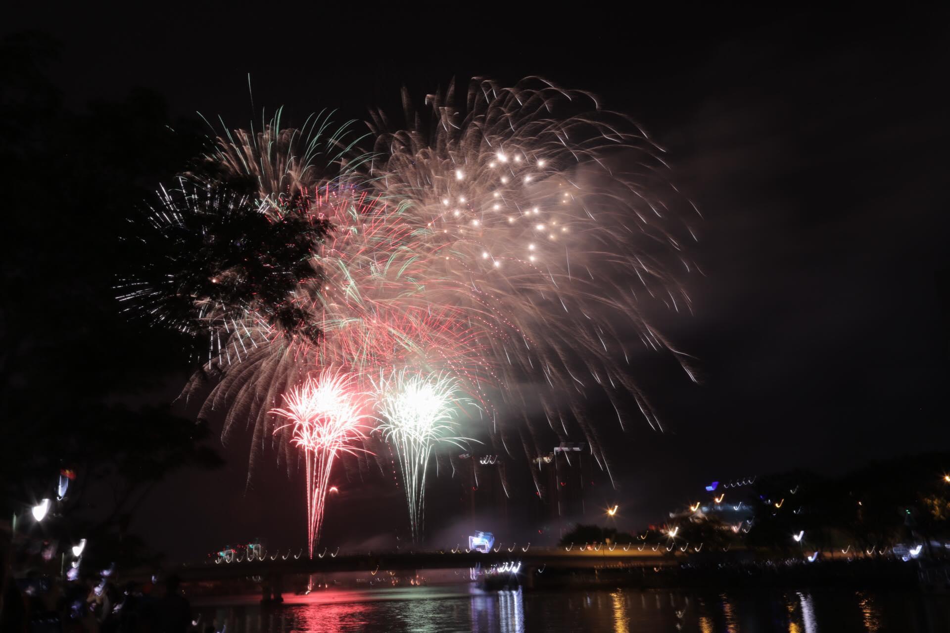 Chùm ảnh: Pháo hoa tuyệt đẹp chào đón năm 2021 - 11