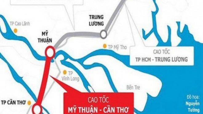 Ngày mai, khởi công cao tốc Mỹ Thuận - Cần Thơ hơn 4.800 tỷ đồng - 1