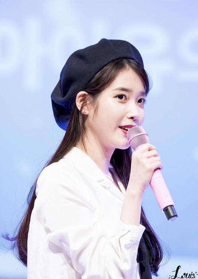 Học ngay các idol K-Pop cách đội mũ beret, chiếc mũ được yêu thích nhất trong mùa Đông - 7