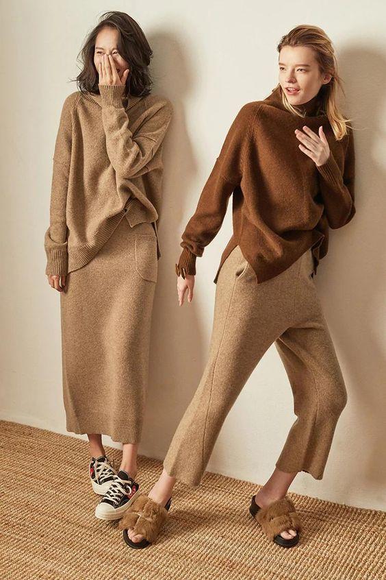 Len cashmere và len wool: Lựa chọn nào tốt hơn cho những ngày lạnh - 2