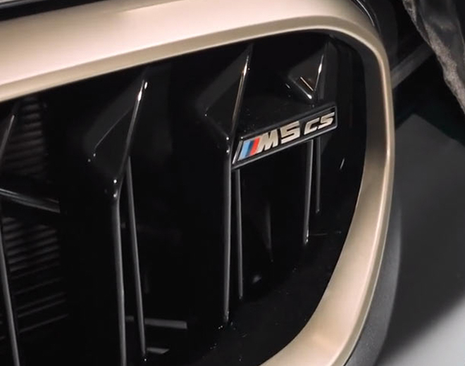Xe hiệu suất cao BMW M5CS hé lộ một số hình ảnh đầu tiên - 1