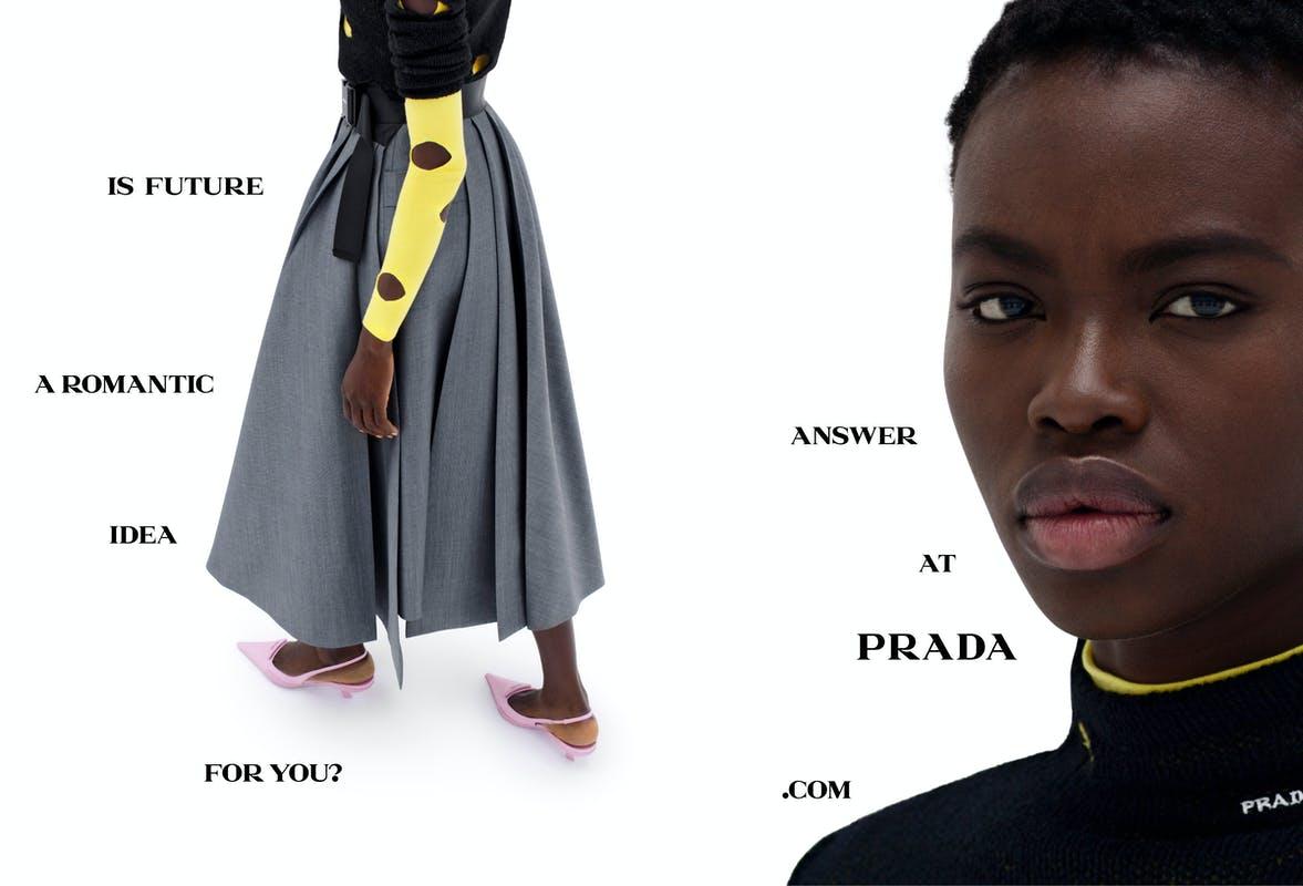 Chiến dịch thời trang Xuân Hè 2021 của Prada: Khi con người trò chuyện cùng máy móc - 1