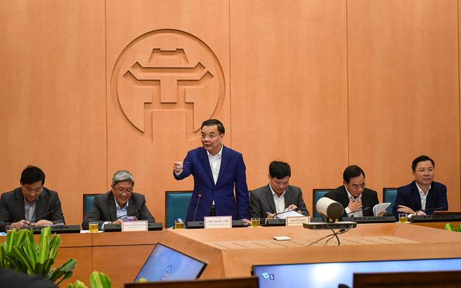 Chủ tịch TP.Hà Nội ra công điện khẩn phòng, chống dịch COVID-19 - 1