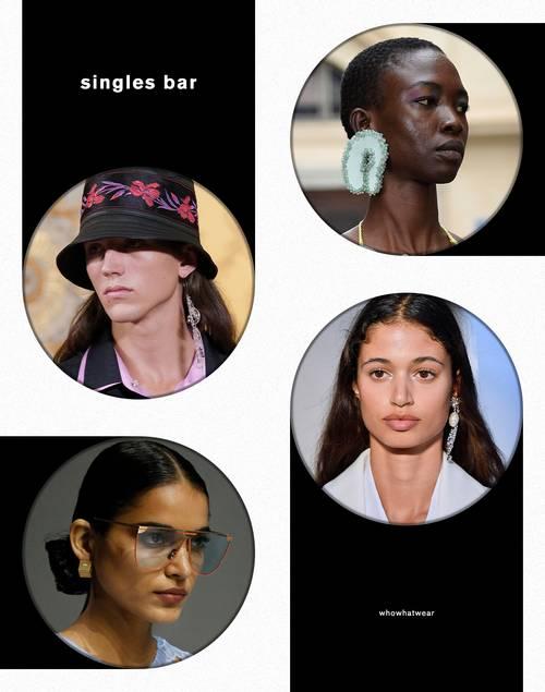 Xu hướng trang sức: Năm 2021 đeo bông tai đơn mới là mốt - 1