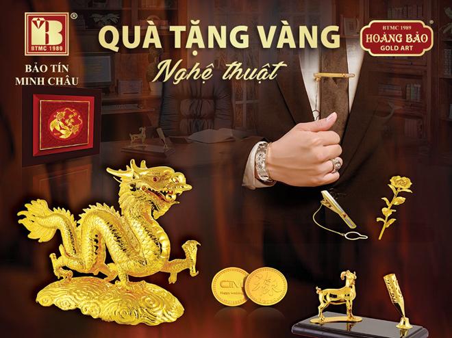 Tặng quà bằng vàng trở thành xu thế thời thượng - 1