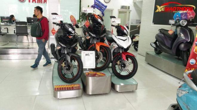 """Loạt xe """"ăn khách"""" Yamaha đồng loạt giảm giá mạnh tay dịp cuối năm - 1"""