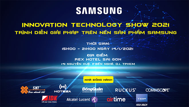 Innovation Technology Show 2021 - Trình diễn giải pháp trên nền sản phẩm Samsung - 1
