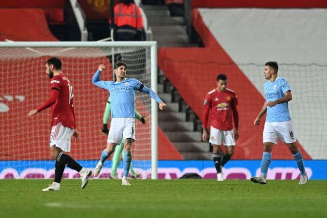 MU lại gặp dớp bán kết đá cúp: Solskjaer khen Man City hay nhất nước Anh - 1