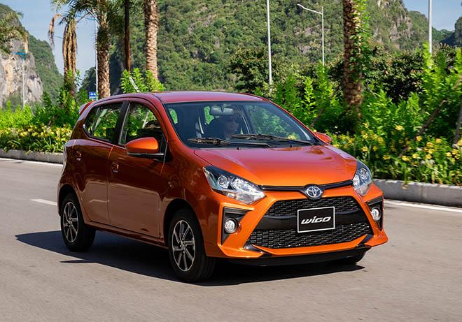 Giá xe Toyota Wigo lăn bánh tháng 01/2021 - 1