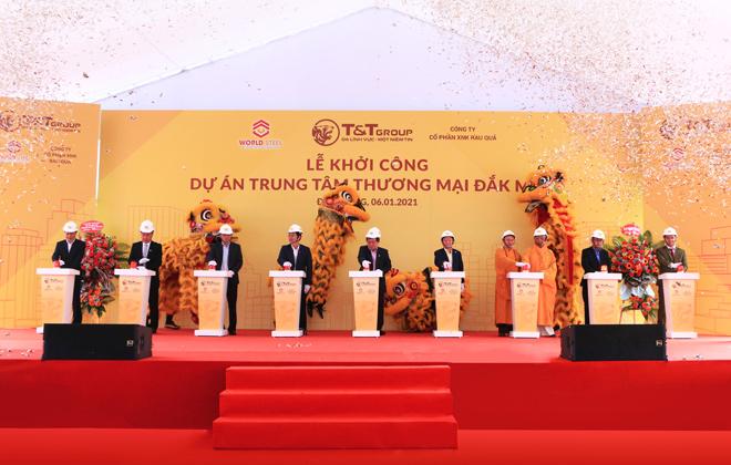 WorldSteel Group: Khởi công xây dựng trung tâm thương mại tại Đắk Nông - 1