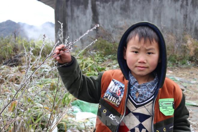 Xuất hiện băng tuyết tại xã biên giới Mèo Vạc - Hà Giang - 5