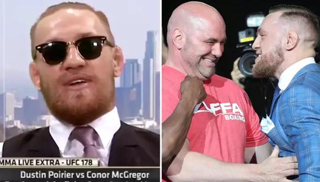 McGregor năm 16 tuổi chọc tức