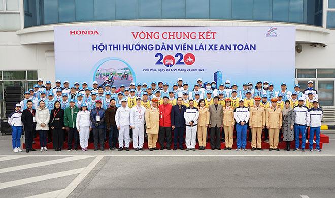 """Honda Việt Nam tổ chức Vòng chung kết Hội thi """"Hướng dẫn viên Lái xe an toàn năm 2020"""" - 1"""