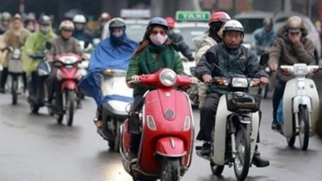 Những phụ kiện chống rét dành cho người đi xe máy - 1