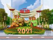 Có gì ở Đường hoa Nguyễn Huệ Tết Tân Sửu 2021?