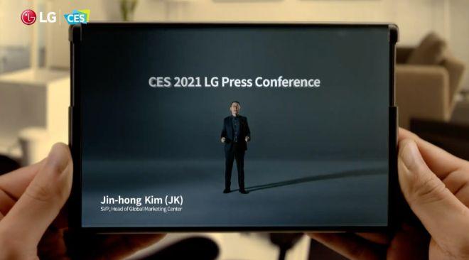 LG lại phô diễn mẫu điện thoại khiến Samsung khó chịu - 1