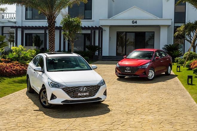Hyundai Accent vượt mốc hơn 3.200 xe trong tháng 12/2020 tại Việt Nam - 1