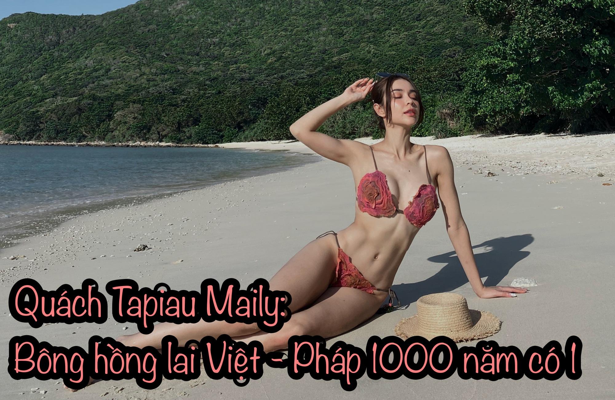 """""""Bông hồng lai"""" Việt - Pháp sở hữu bộ sưu tập bikini đồ sộ - 1"""