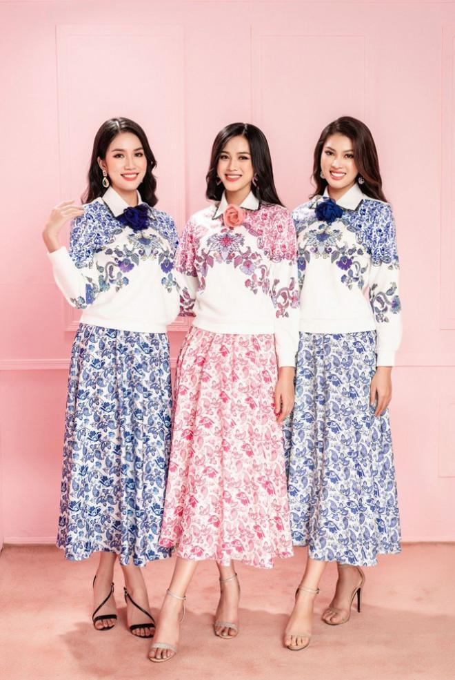 Học Hoa hậu Đỗ Thị Hà và hai nàng Á hậu cách chọn trang phục xinh tươi mùa Lễ Tết - 10