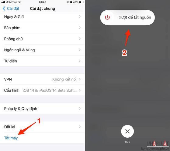 8 cách sửa lỗi iPhone không hiển thị lịch sử cuộc gọi - 1