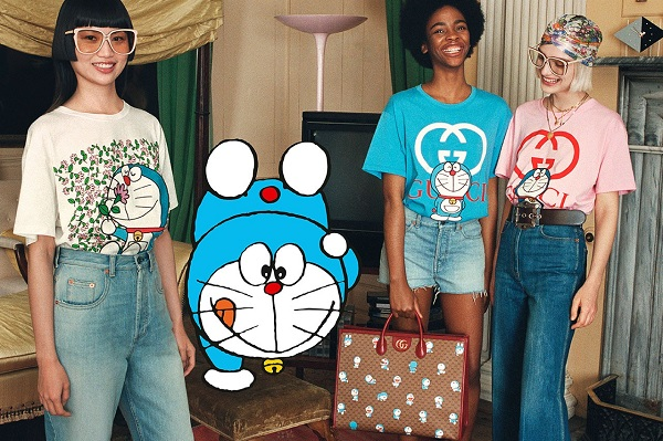 Đến lượt mèo máy Doraemon bước vào thế giới thời trang cùng Gucci - 3