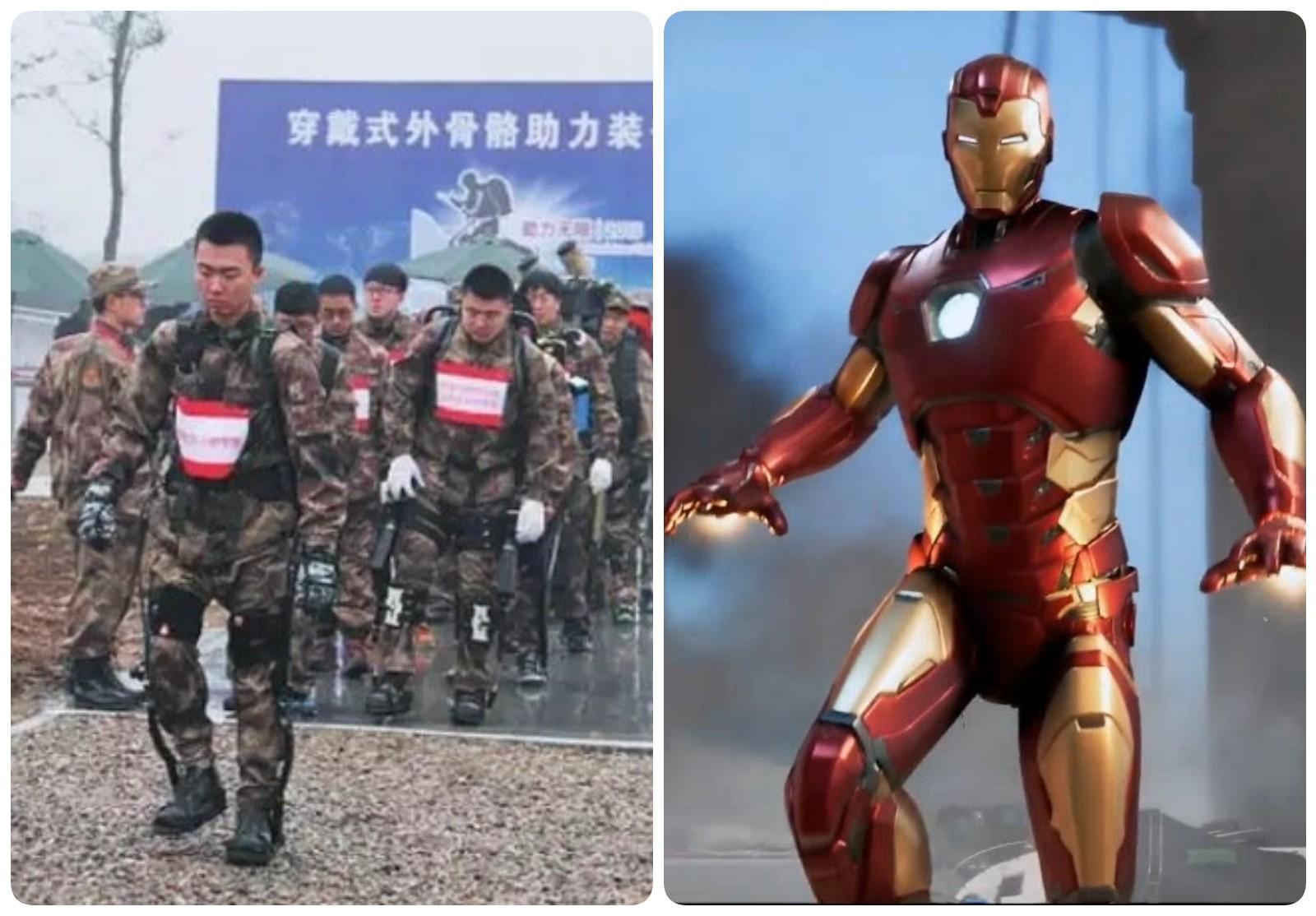 """Sự thật chuyện binh sĩ TQ sở hữu bộ giáp """"siêu chiến binh"""" - 1"""