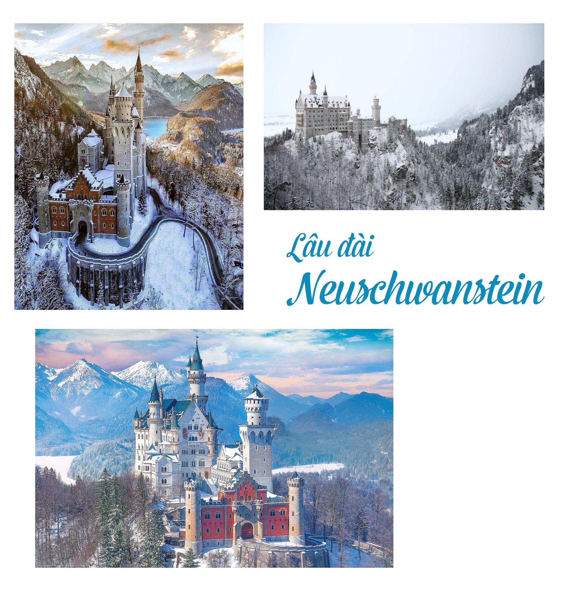 17 lâu đài cổ tích châu Âu đáng đến thăm vào mùa đông - 2