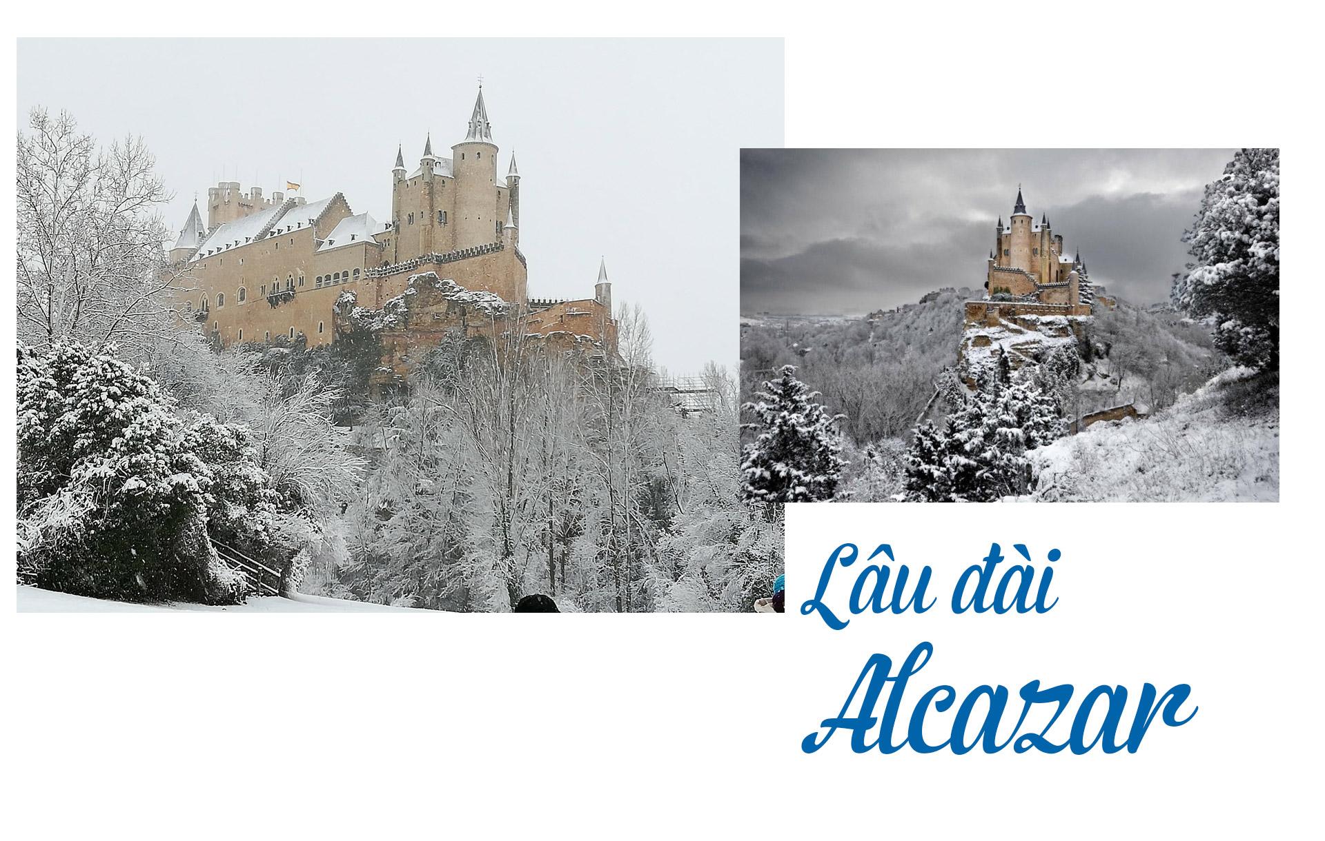 17 lâu đài cổ tích châu Âu đáng đến thăm vào mùa đông - 5
