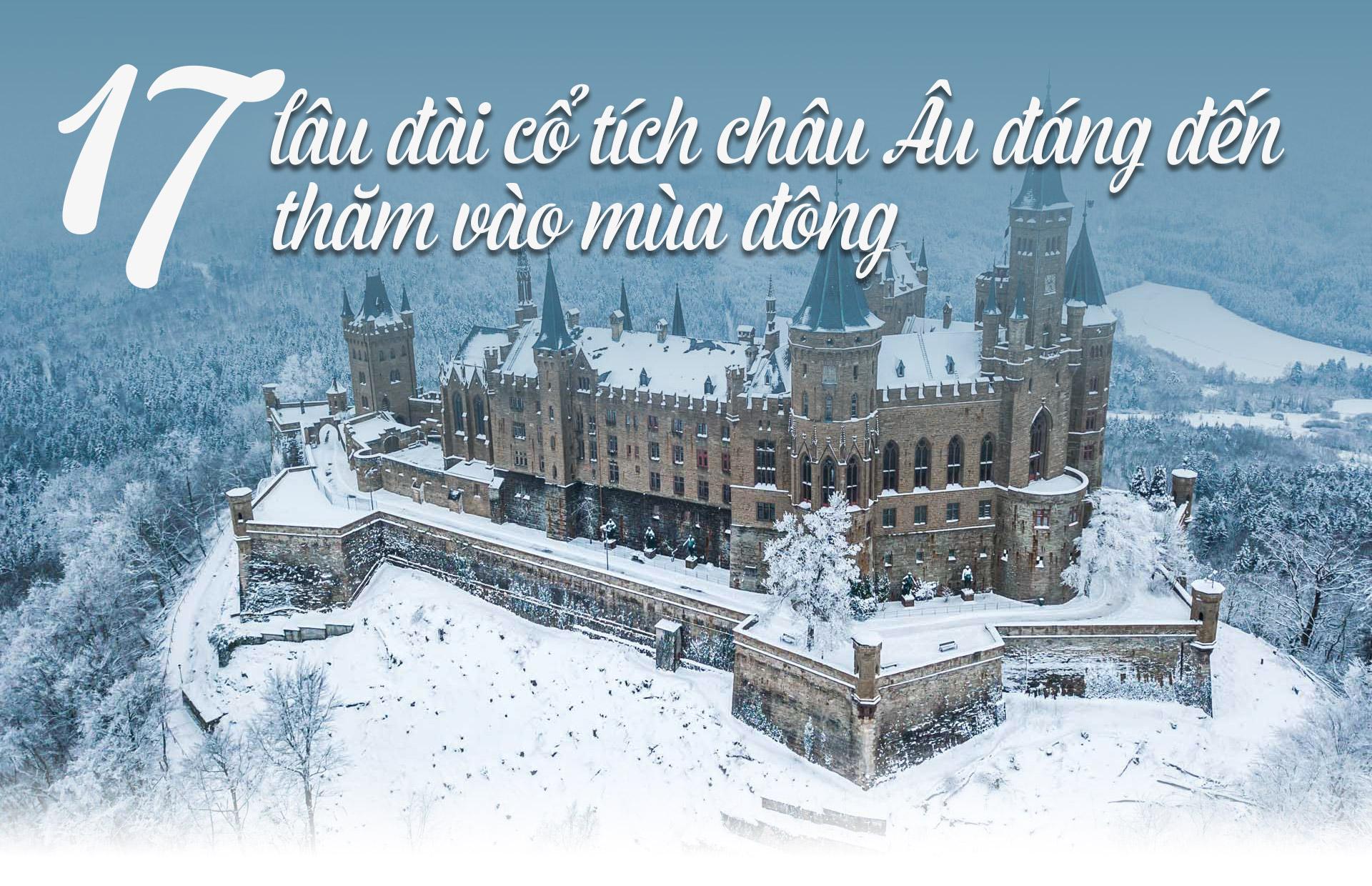 17 lâu đài cổ tích châu Âu đáng đến thăm vào mùa đông - 1