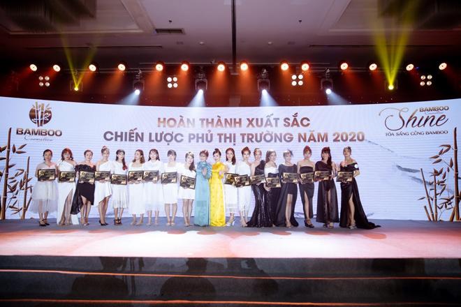"""Bamboo Cosmetics tổ chức gala vinh danh hệ thống """"Shine – Toả sáng cùng Bamboo"""" - 1"""