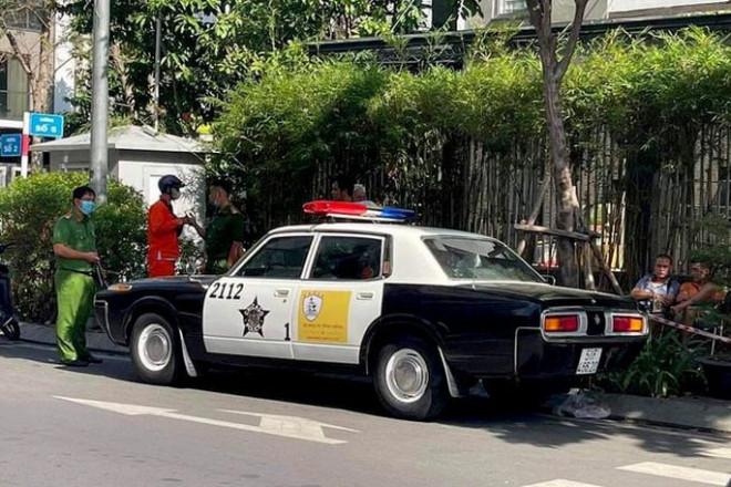 """Công an TP HCM nói gì về """"xe cảnh sát Mỹ xuất hiện ở Việt Nam""""? - 1"""